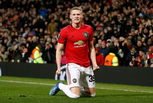 Mourinho sees similarities between Parrott and Manchester United midfielder Scott McTominay