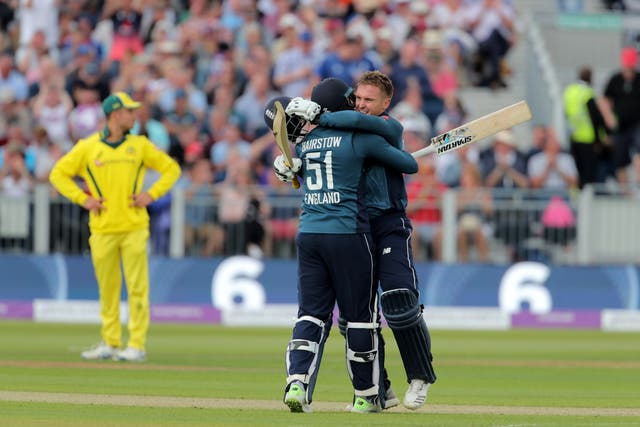 Roy and opening partner Jonny Bairstow have put on over 1000 ODI runs together in 2018.