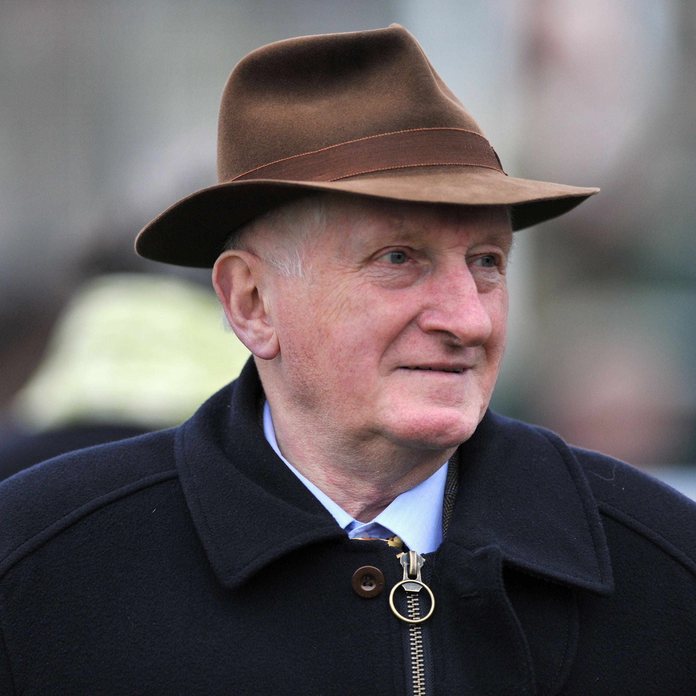 Former Trainer Martin Pipe who feels racing is unlikely to resume on Wednesday
