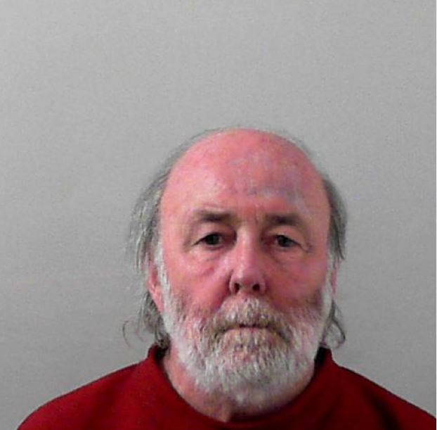 A custody image of Gordon Hawthorn (Avon and Somerset Police/PA)