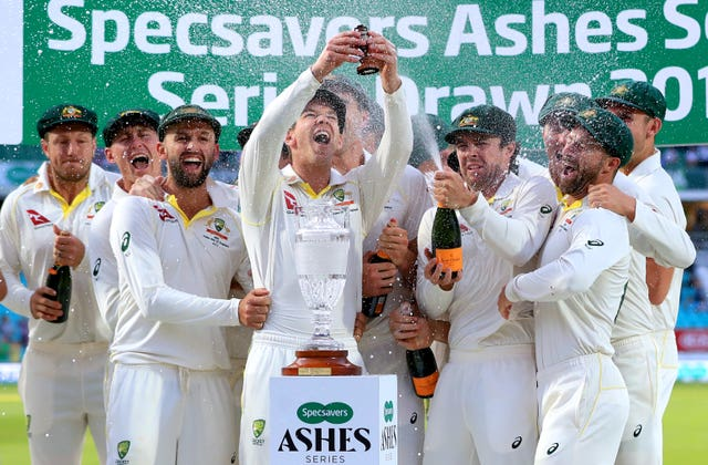 Australia take the urn home