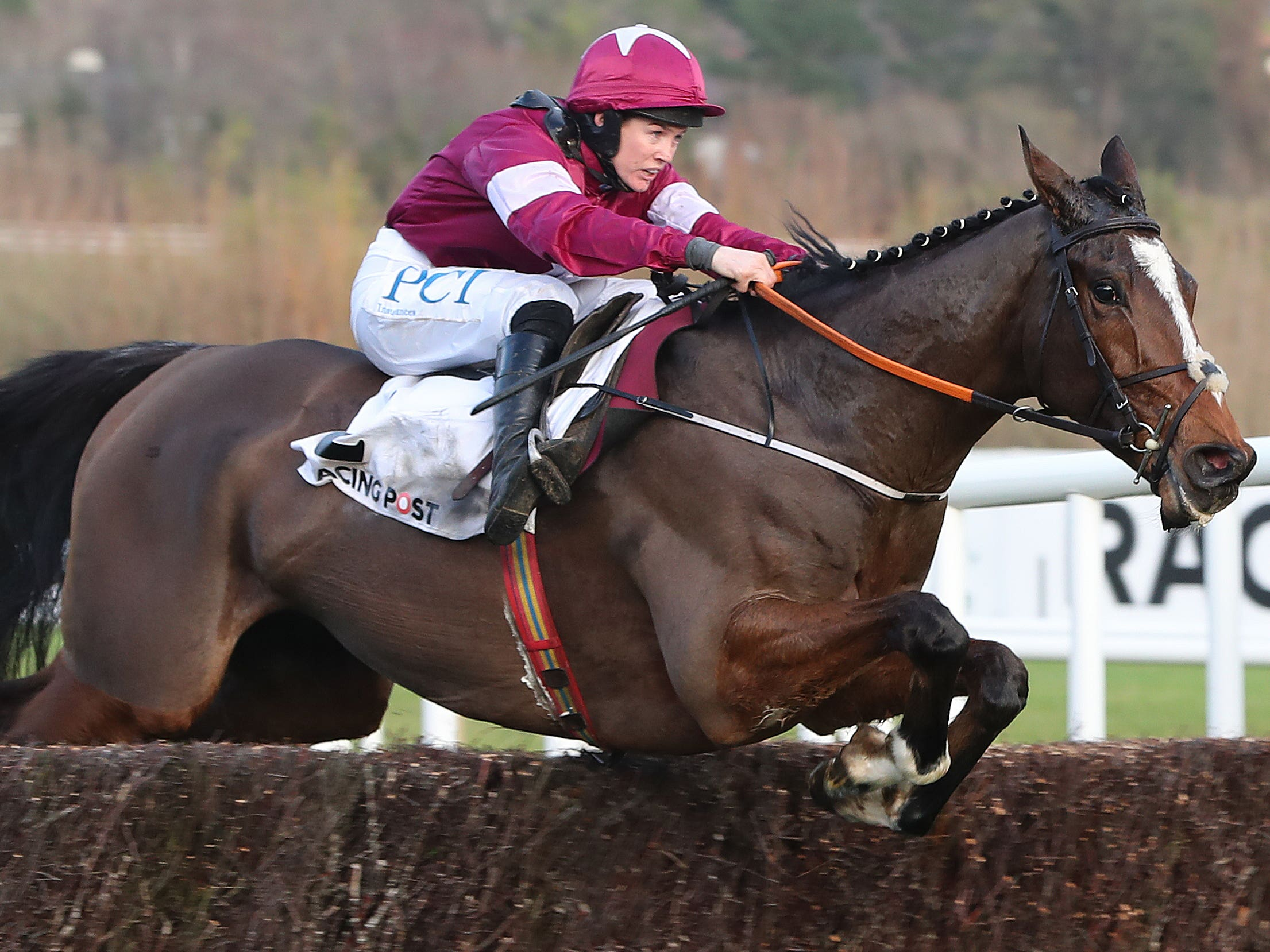 Notebook returned to winning ways at Naas (Niall Carson/PA)