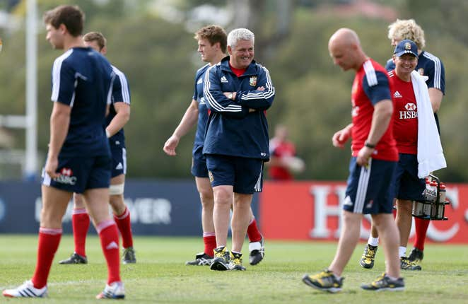 Rugby Union – 2013 British and Irish Lions Tour – British and Irish Lions Training Session – Anglican Church Grammar School