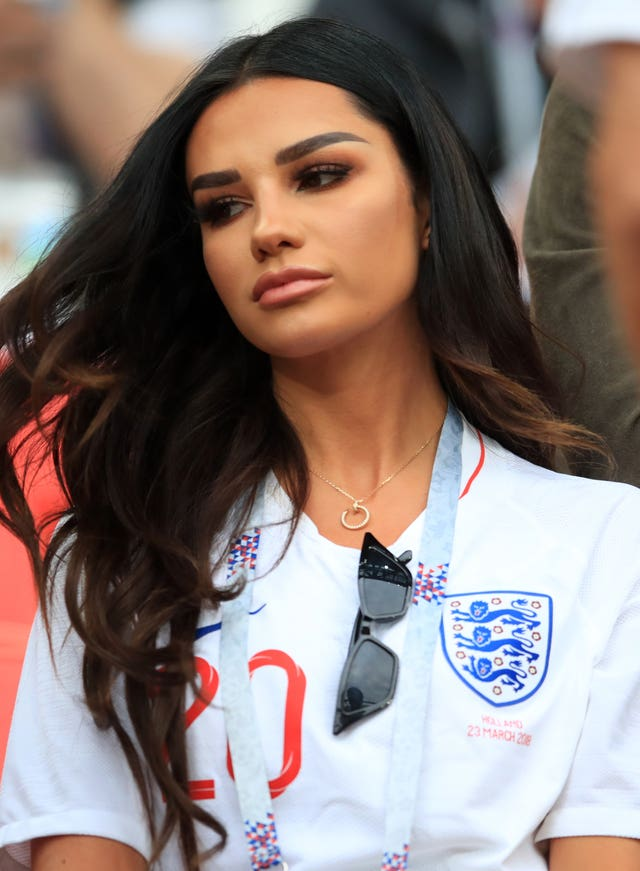 Ruby Mae, girlfriend of England's Dele Alli (Adam Davy/PA)
