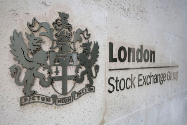 The London Stock Exchange Group held its extraordinary general meeting in London (PA)