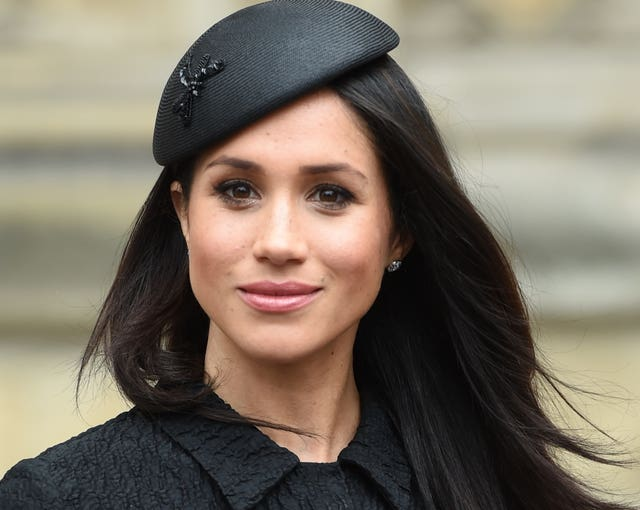 Meghan Markle still wants her father with her on her wedding day (Eddie Mulholland/Daily Telegraph/PA)