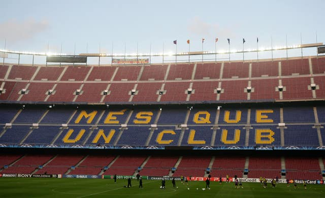 Barcelona's appeal delayed their transfer ban for a similar offence