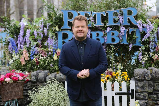James Corden attending the Peter Rabbit UK Gala Premiere (Rick Findler/PA)