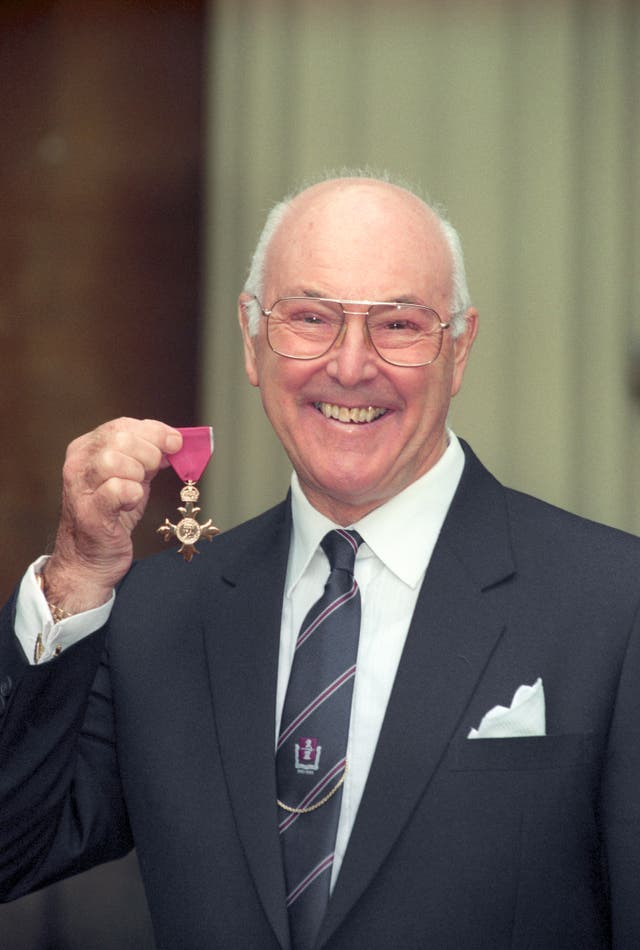 Walker was appointed an OBE in 1996 for his services to broadcasting and motor racing