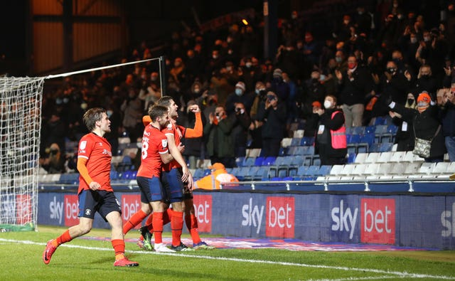 Luton Town v Norwich City – Sky Bet Championship – Kenilworth Road