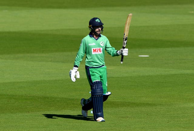 Curtis Campher defied England on his Ireland debut (Mike Hewitt/PA)