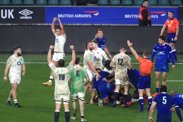 England defeated France in the Autumn Nations Cup final
