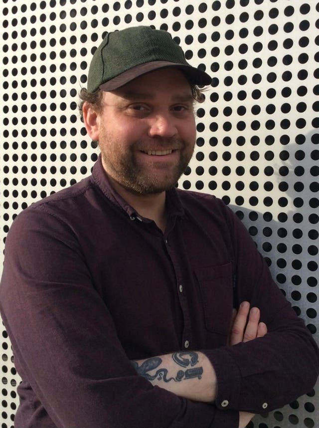 Scott Hutchison, lead singer Frightened Rabbit (Police Scotland/PA)