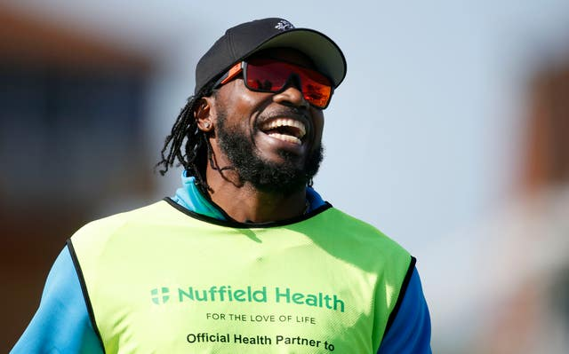 Chris Gayle said he would be willing to feature in The Hundred if drafted (Paul Harding/PA)
