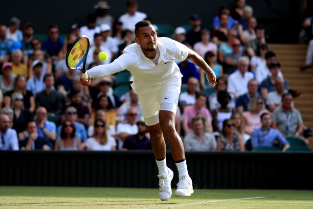 Nick Kyrgios has been handed a suspended ban