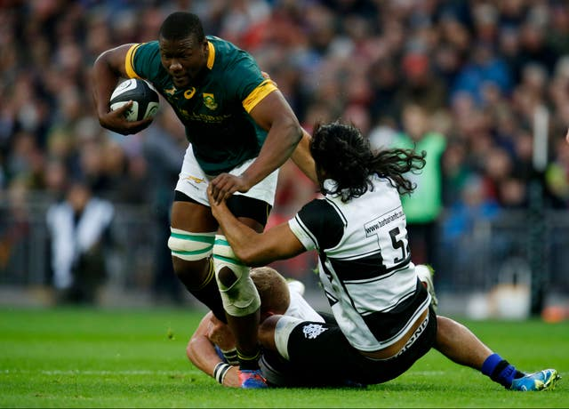 Fatialofa played for the Barbarians in a 31-31 draw against South Africa in November 2016