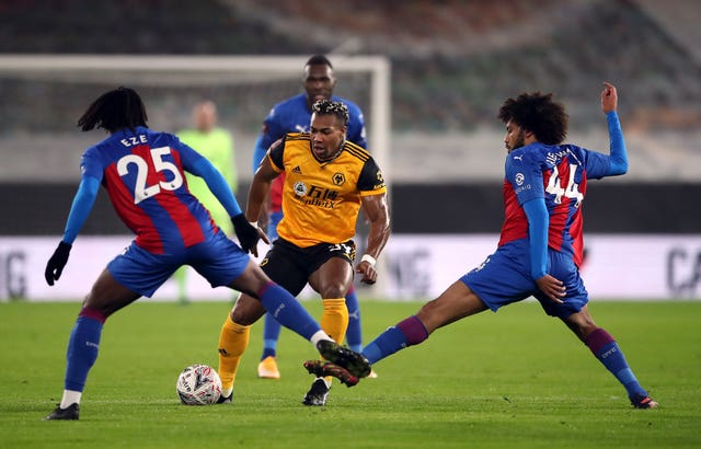 Wolverhampton Wanderers v Crystal Palace – Emirates FA Cup – Third Round – Molineux Stadium