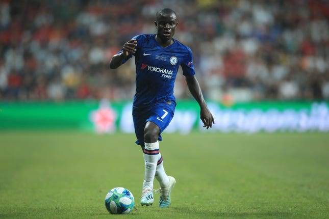 N'Golo Kante is a key figure in Chelsea's midfield