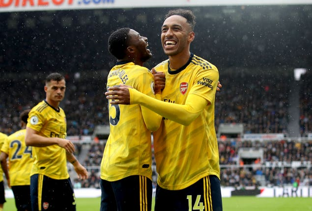 Pierre-Emerick Aubameyang scored the only goal thanks to an assist from Ainsley Maitland-Niles