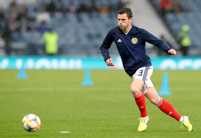 Scotland captain Andy Robertson pulled out of the squad