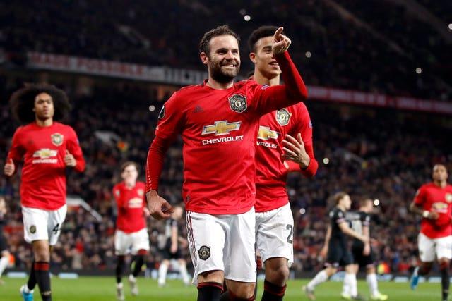 Juan Mata also got on the scoresheet at Old Trafford