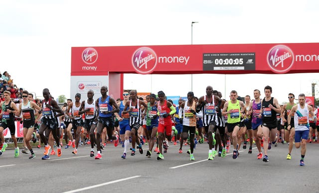 The London Marathon has been moved to October