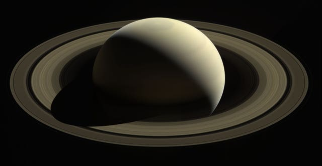 Cassini's last long distance views of Saturn