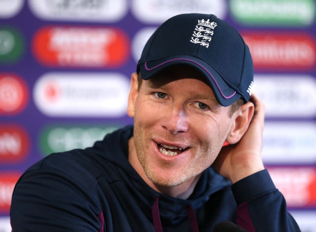 Eoin Morgan was optimistic about his own fitness after back problems.