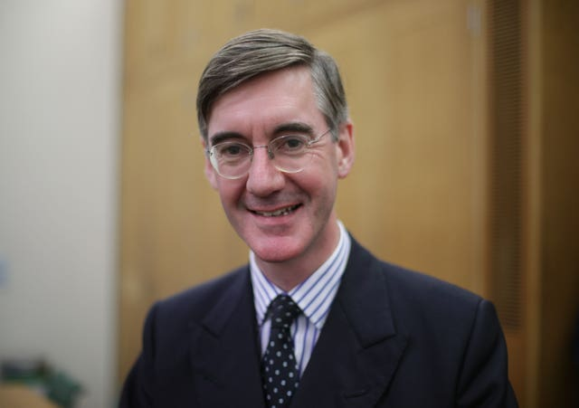 File photo dated 05/09/17 of Conservative MP Jacob Rees-Mogg (Yui Mok/PA)
