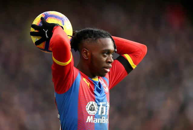 Wan-Bissaka started with Crystal Palace