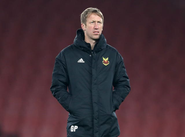 Graham Potter, who was Ostersund manager between 2010 and 2018, has been home schooling his three children