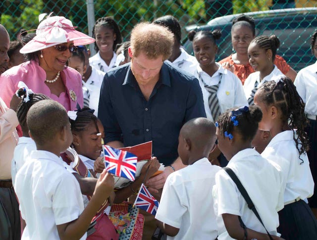 Prince Harry visit to the Caribbean – Day Nine