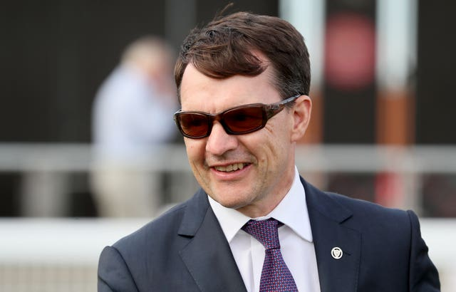 Russian Emperor gave trainer Aiden O'Brien his first win of the Irish Flat season