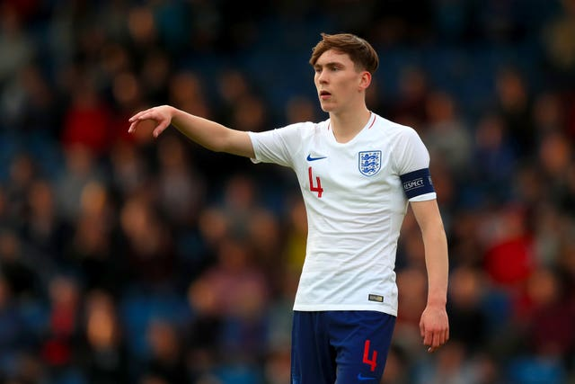 James Garner has captained England at youth level