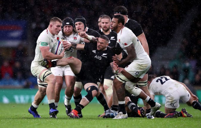 England fell to a 16-15 defeat to New Zealand during their last meeting in November 2018