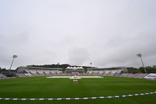 The third day of the second Test was abandoned without a ball bowled because of poor weather