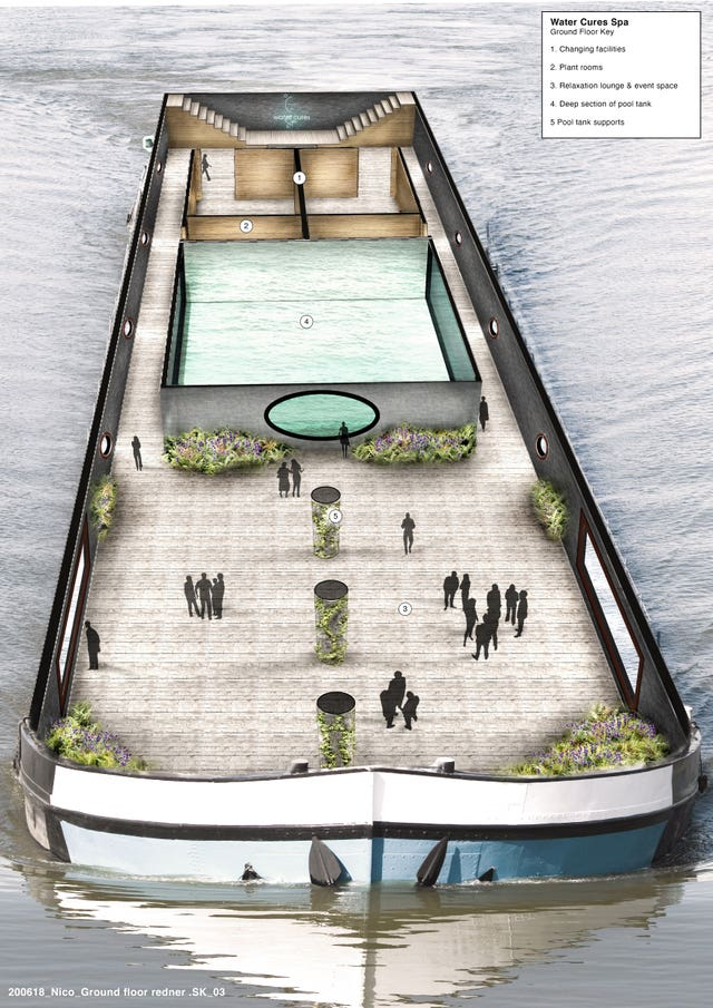Floating lido plans