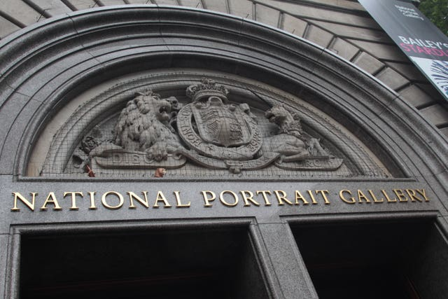The National Portrait Gallery, St Martins Place, London