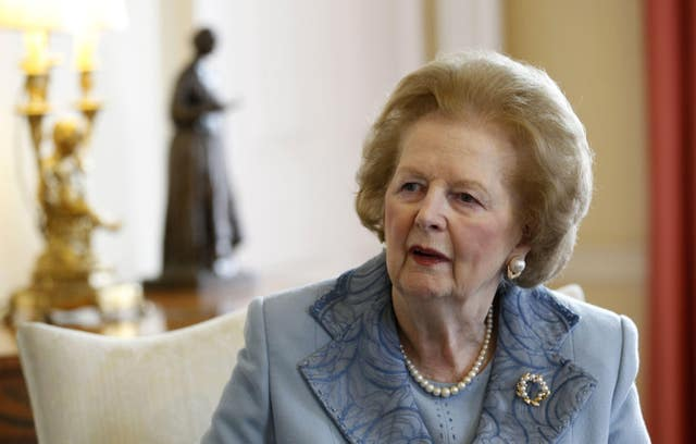 Baroness Thatcher in Downing Street
