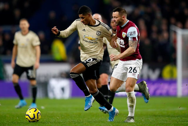 Marcus Rashford was on the front foot