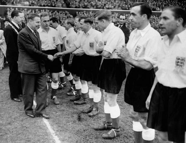 Soccer – Scotland v England – Hampden Park