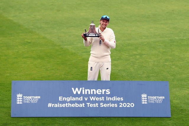 Joe Root guided England to victory as international cricket returned