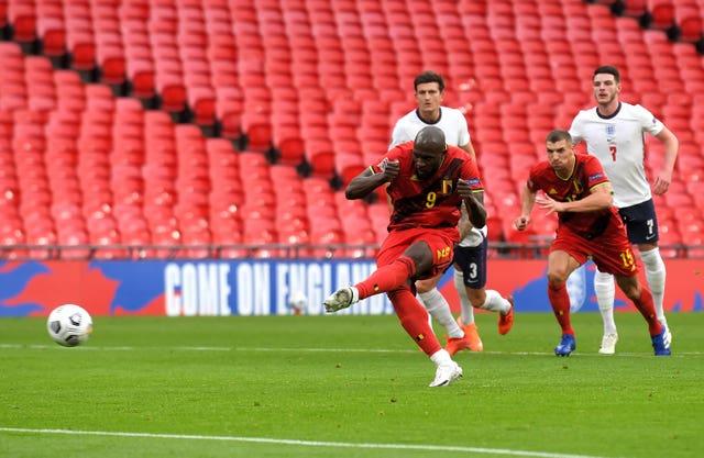 Belgium lost at Wembley in October despite Romelu Lukaku's penalty putting them ahead.