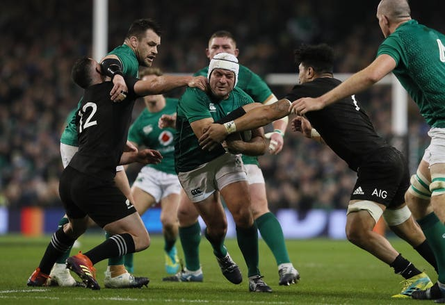 Ireland beat the All Blacks in Dublin during the autumn internationals