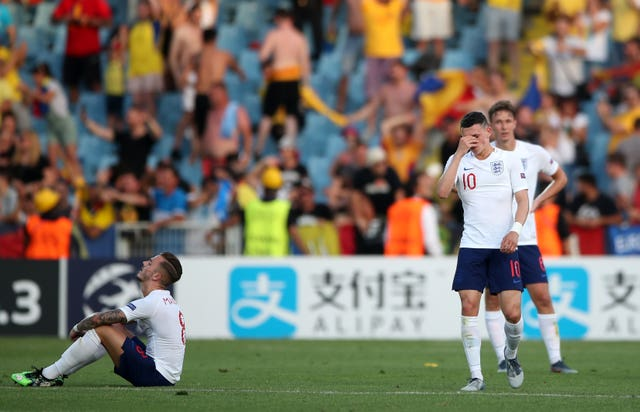 England Under-21s were stunned by Romania