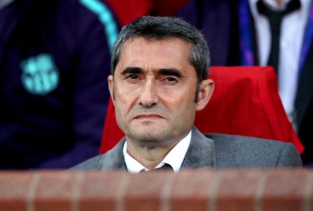 Ernesto Valverde will want to deliver the Champions League to Barcelona fans