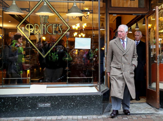 Visiting The Prince's cafe in Pontypridd