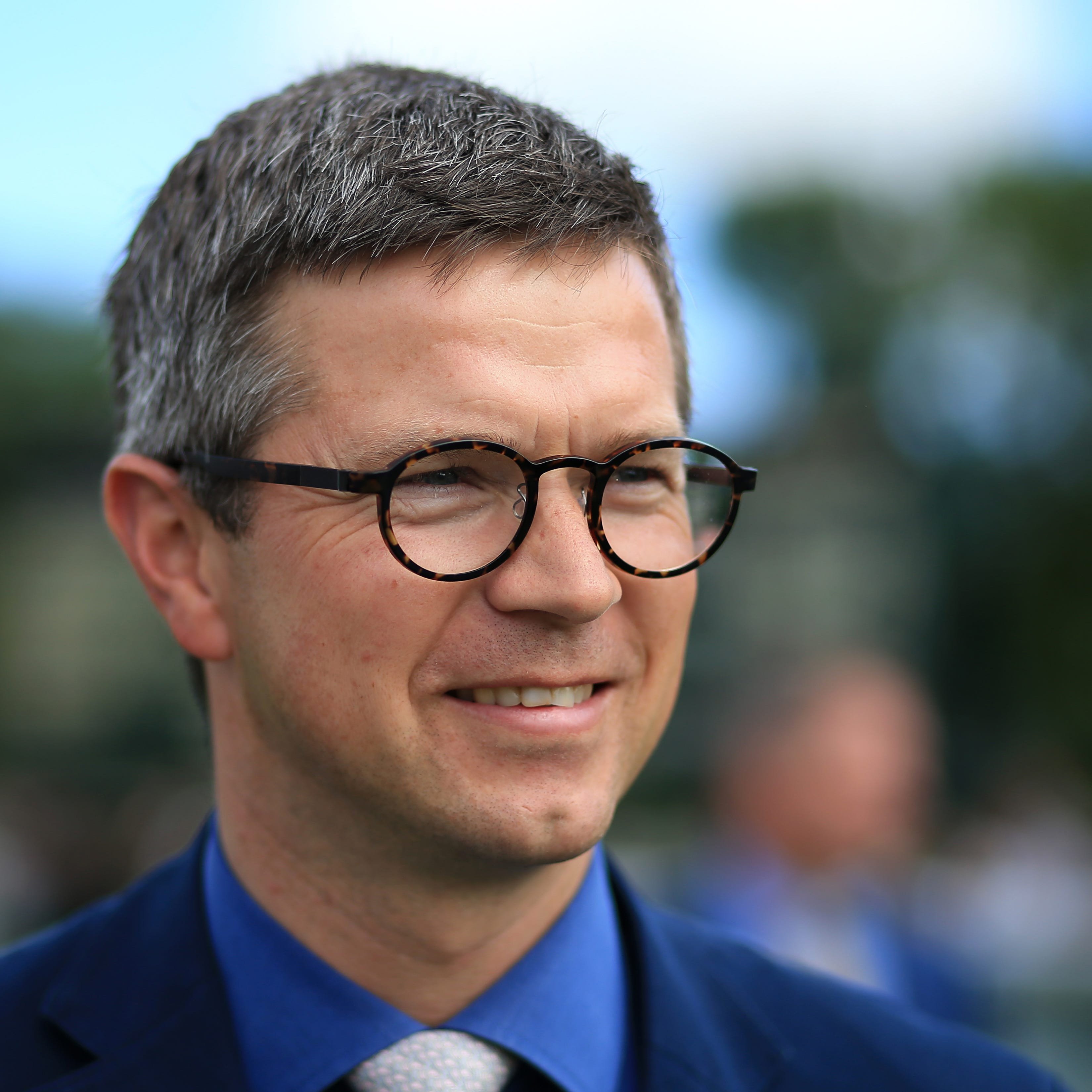 Trainer Roger Varian was successful with Queen Of Desire in the feature race at Bath