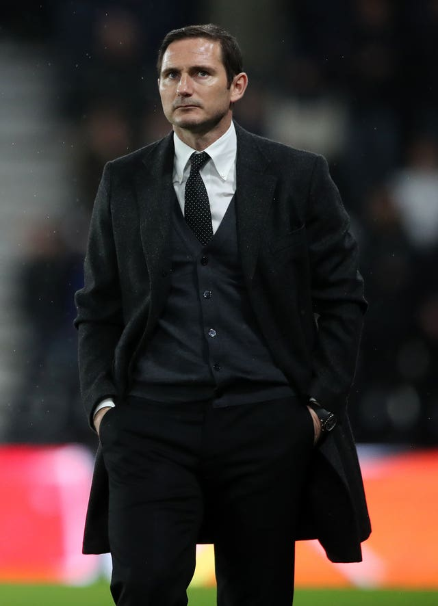 Derby manager Frank Lampard condemned the alleged abuse