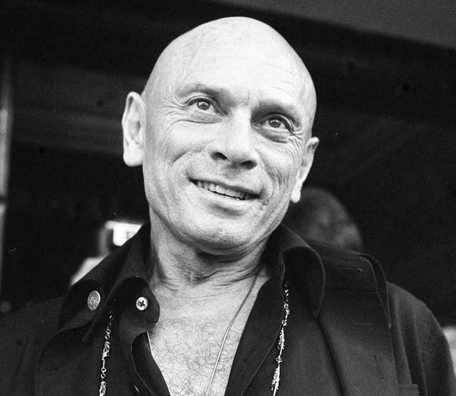 Yul Brynner, who played the King of Siam in The King & I. (Image: PA)